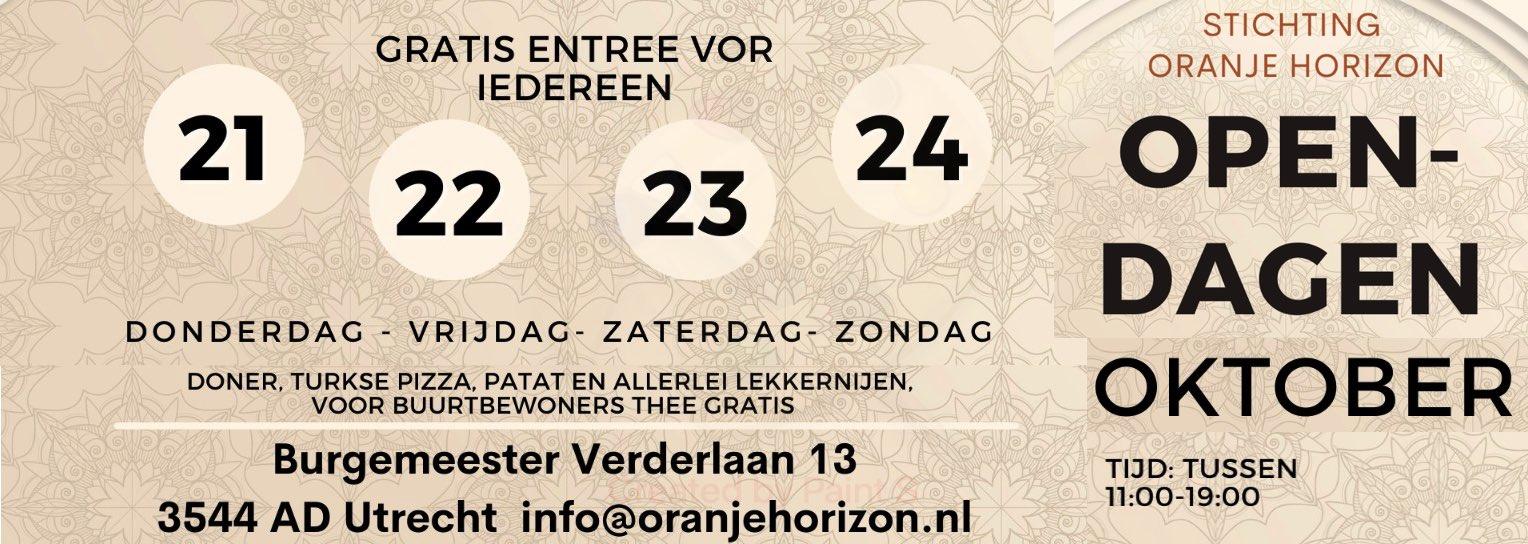 Opening nieuwe locatie Stichting Oranje Horizon